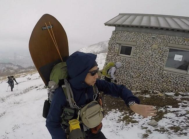 ワークマンのレインウェアで登山