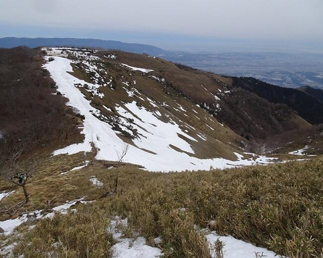 竜ヶ岳 ホタガ谷