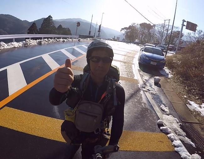 藤内沢-第三ルンゼ 下山完了