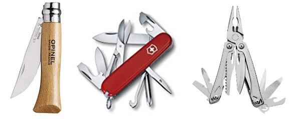 登山用ナイフ