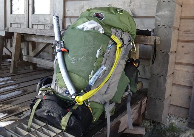 藤内沢-第三ルンゼ 装備