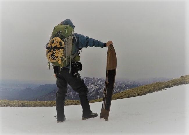 冬の竜ヶ岳登山の装備と服装