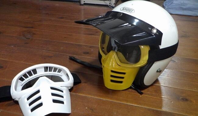 ビンテージ モトクロス フェイスマスク