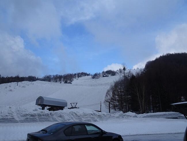 乗鞍岳 登山口 スキー場