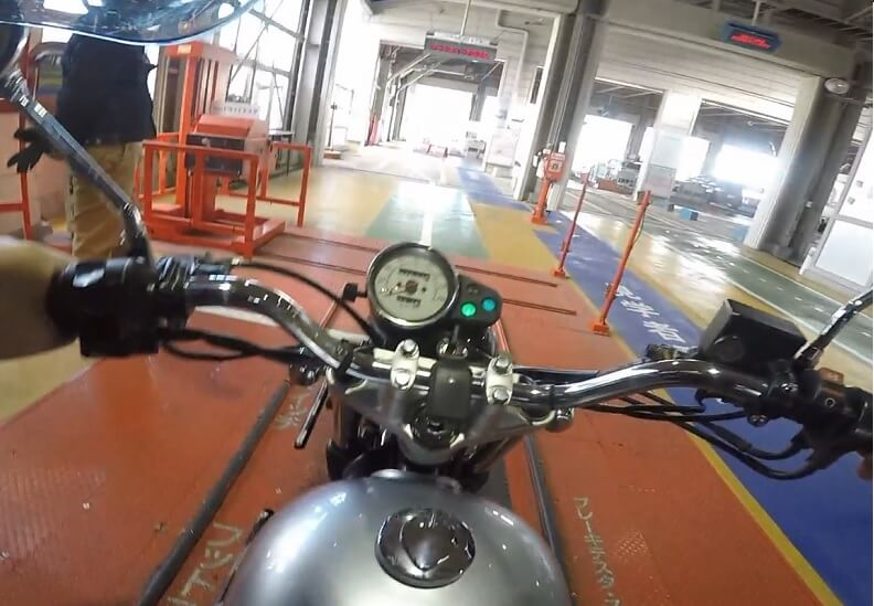 ブレーキの検査 バイクのユーザー車検