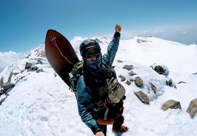乗鞍岳登山 4月