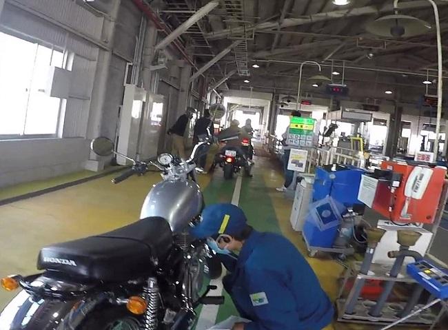 バイク ユーザー車検の検査項目