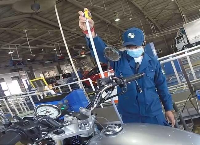 車幅・車高の検査