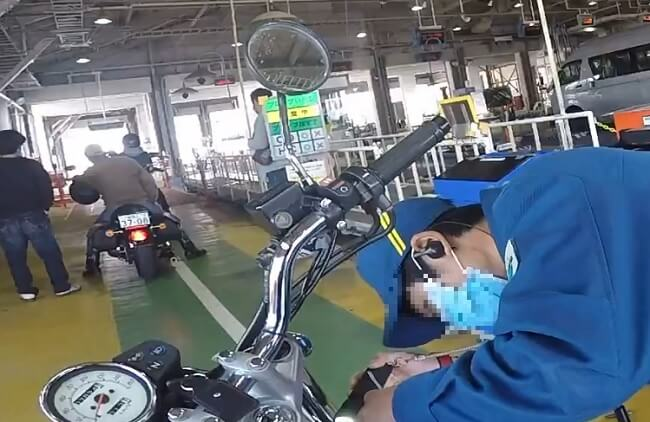 車体番号のチェック バイクのユーザー車検