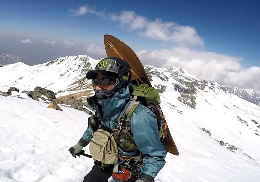 乗鞍岳登山の装備と服装 4月