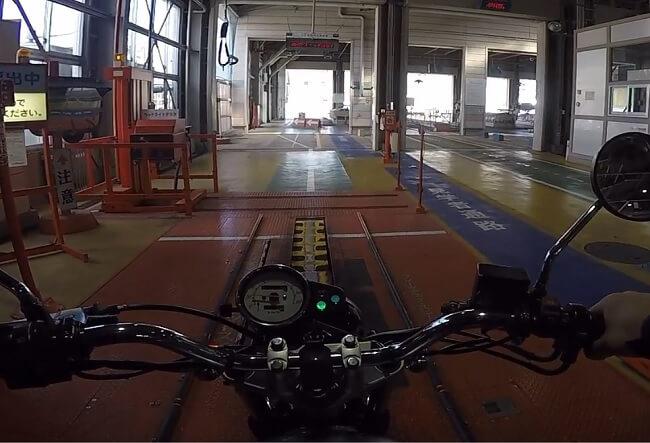 スピードメーターの検査