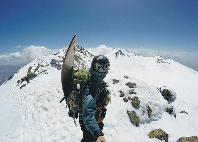 乗鞍 朝日岳頂上