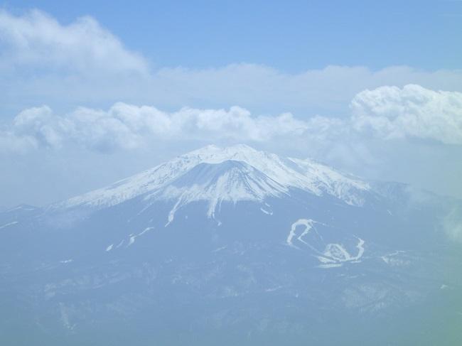 乗鞍岳剣ヶ峰からの眺め~御嶽山