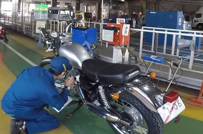 車検切れバイクのユーザー車検
