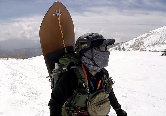 UV フェイスマスク登山