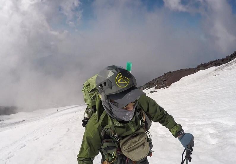残雪期の富士宮ルート 登山