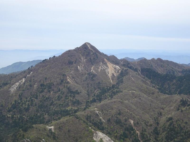 御在所岳から鎌ヶ岳を目指す