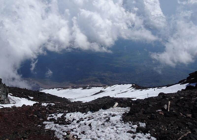 残雪期 富士登山の注意点
