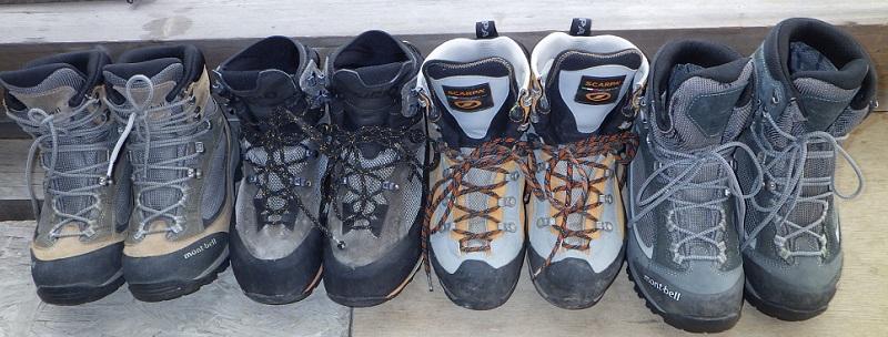 登山靴特集