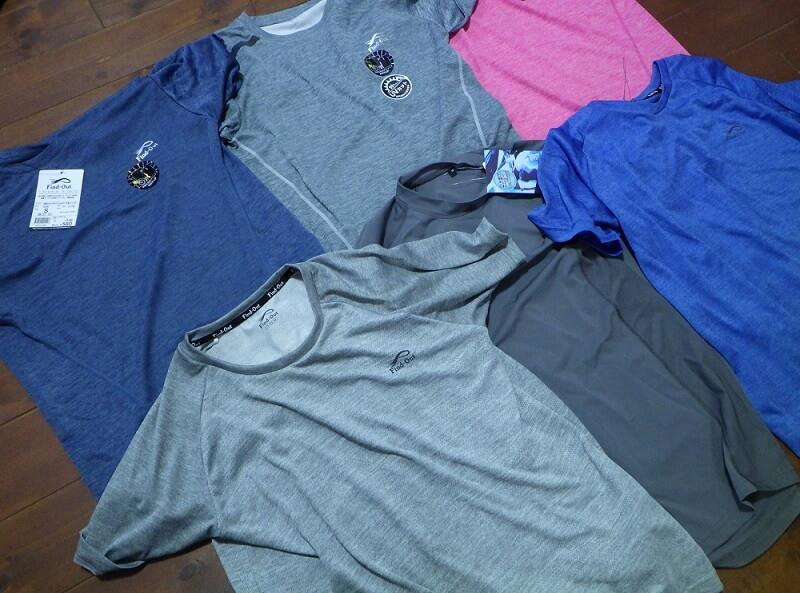 ワークマンのTシャツ・コンプレッションシャツ