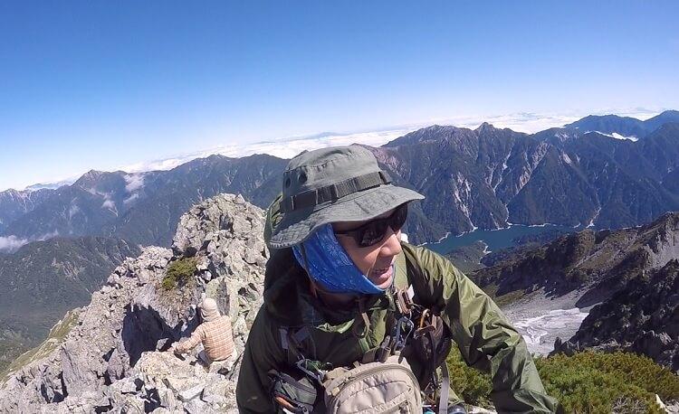 立山 富士ノ折立からの眺望