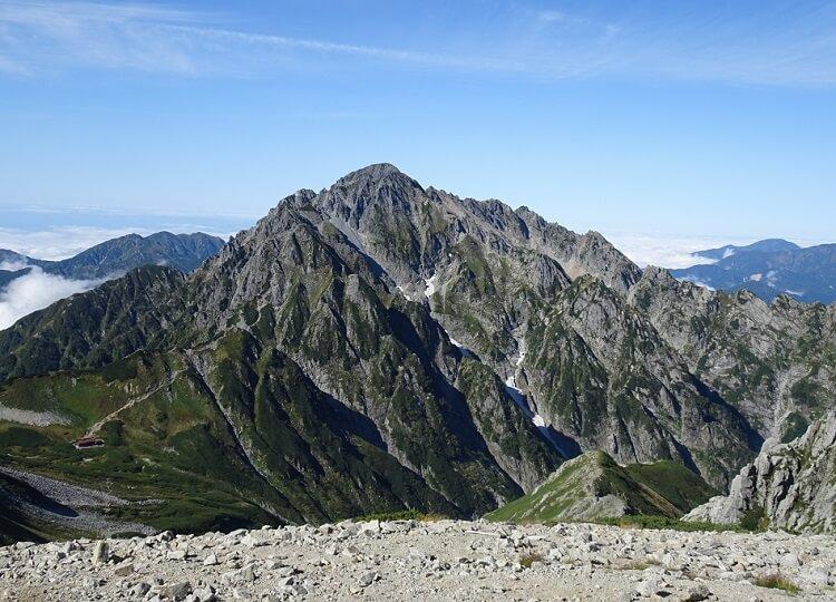 剱岳 別山南峰から