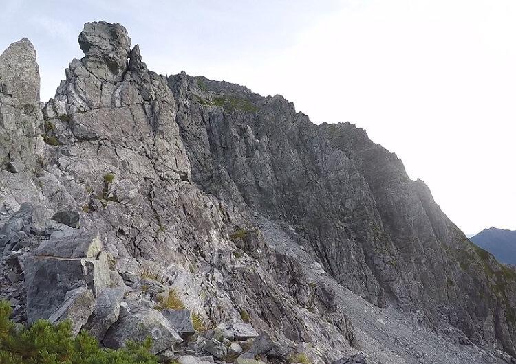 剱岳 別山尾根 平蔵のコル