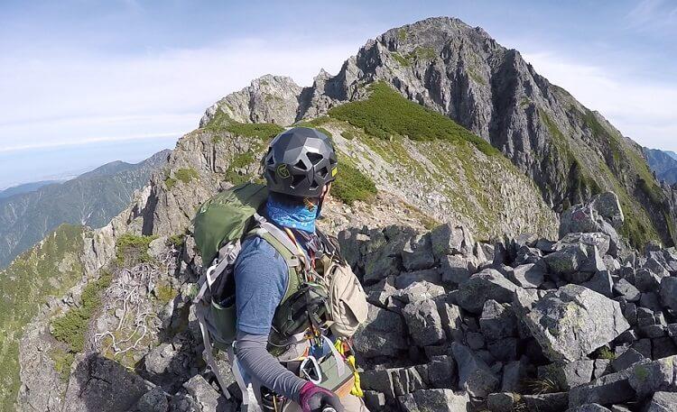 剱岳から前剱まで下山