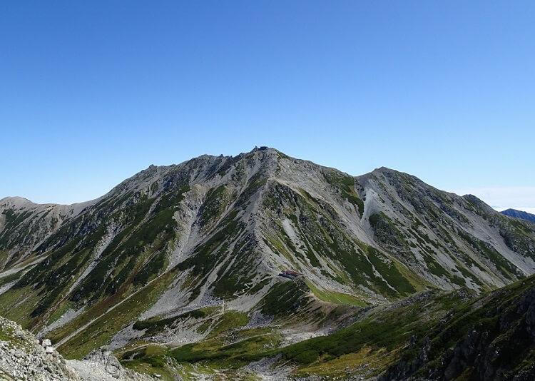 立山 浄土山からの眺め雄山方面