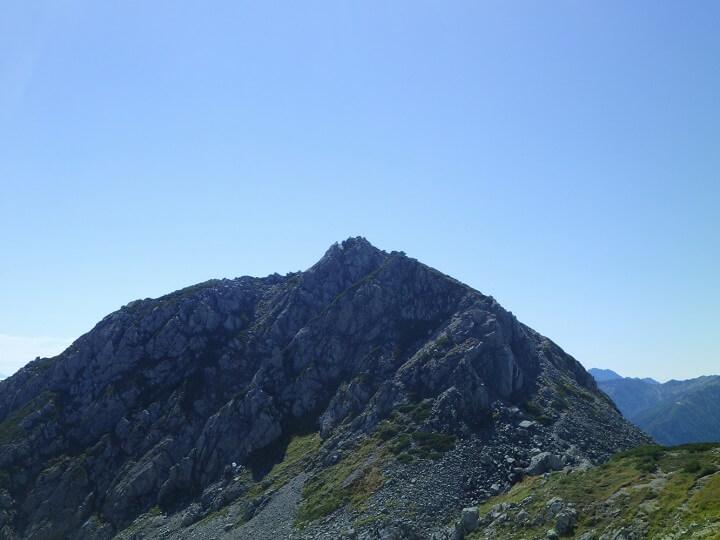 立山 浄土山から見る龍王岳