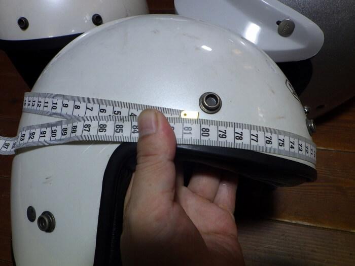 SHOEIジェットヘルメット 帽体サイズ