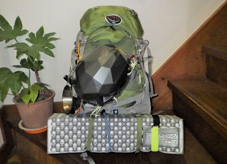 立山登山の装備
