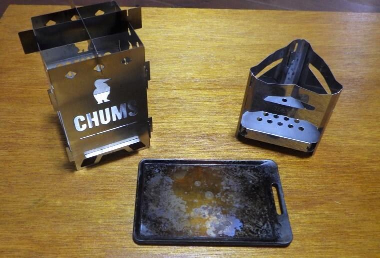 ビーパル付録 鉄板と焚き火台