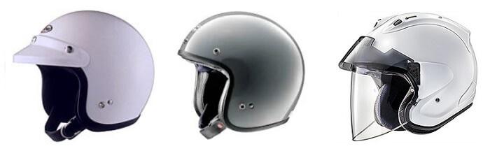 アライのジェットヘルメット