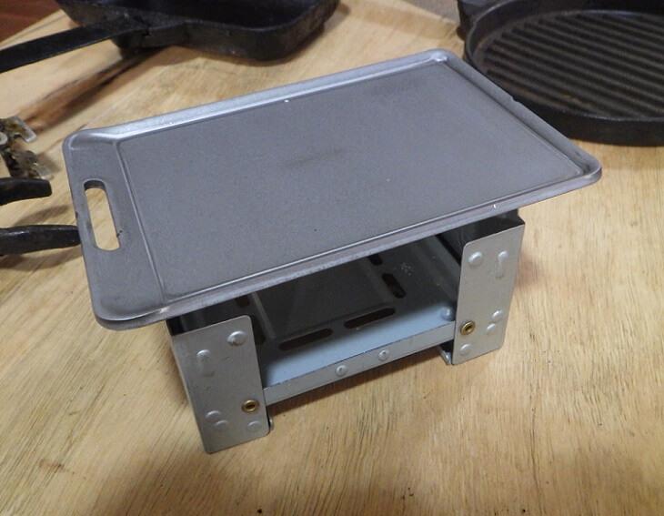 ビーパル11月付録 肉厚鉄板とポケットストーブ