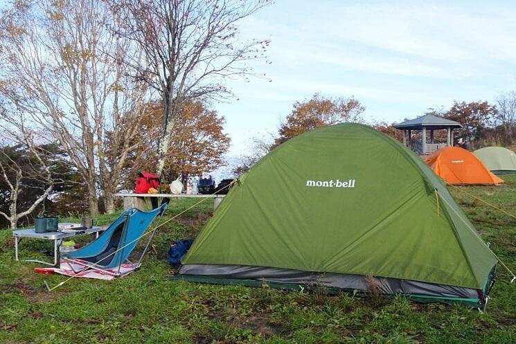 陣馬形山キャンプで使用したキャンプ道具紹介