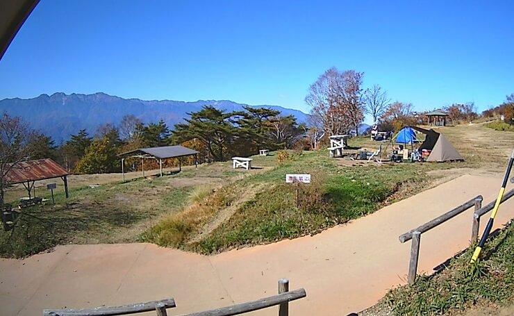 陣馬形山キャンプ場の魅力