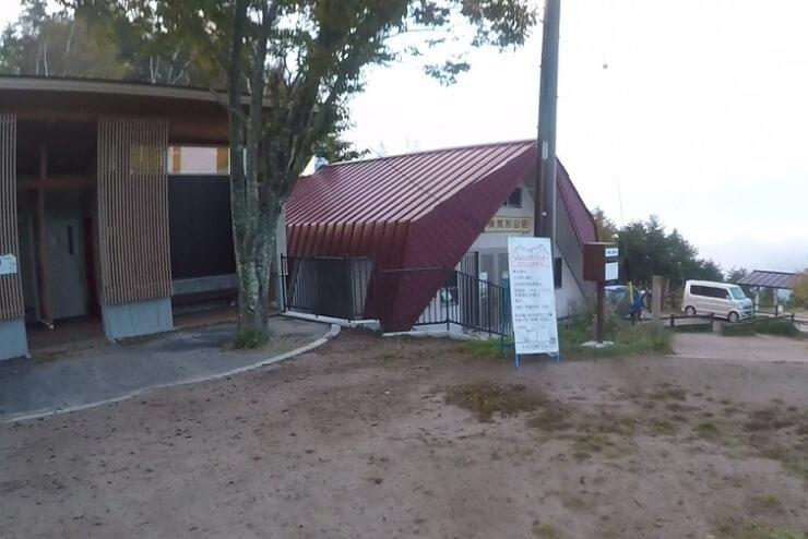 陣馬形山キャンプ場のトイレ・設備