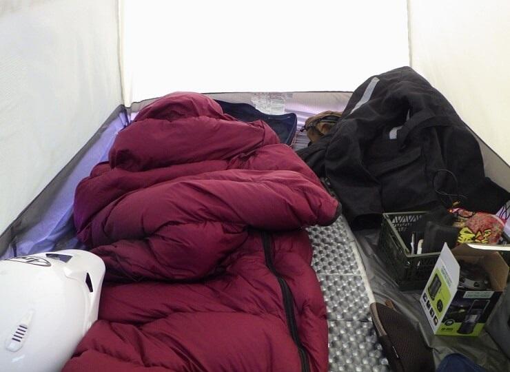陣馬形山キャンプ場 6時起床
