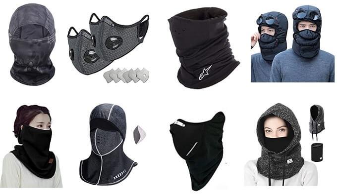 人気の防寒フェイスマスク一覧