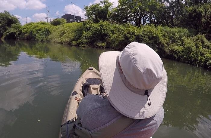 夏のウェーディングに最適な釣り用ハット