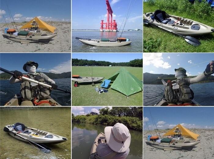 カヤック釣行に関する記事 by flyder