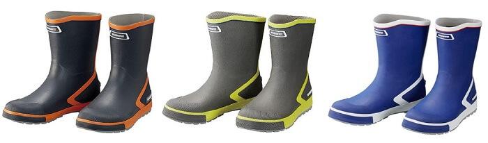 シマノの釣り用長靴 ショートデッキブーツ