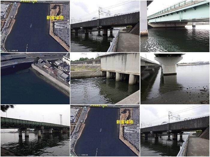 名古屋市 天白川のシーバス釣りポイントを紹介