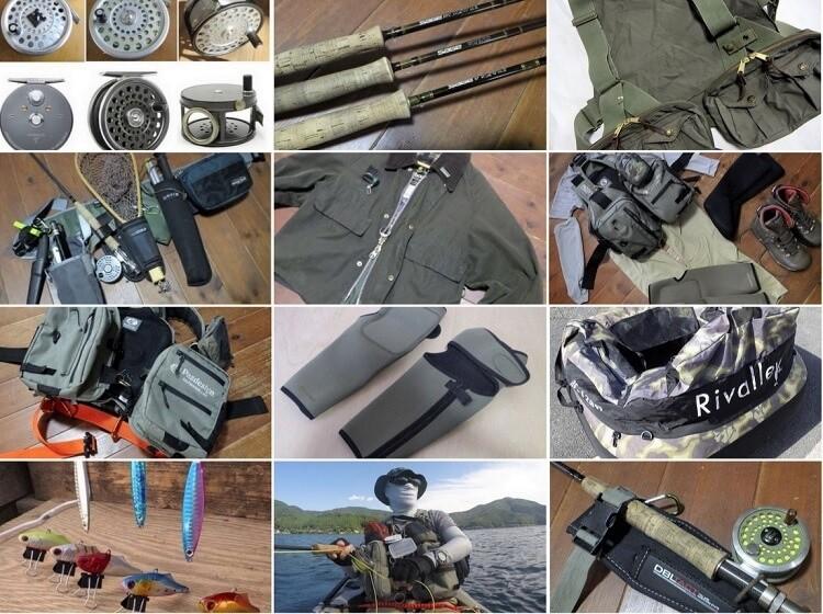 釣り具・釣り用品のレビュー記事まとめ