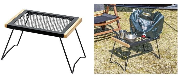 バンドック 焚き火用折り畳み式テーブル