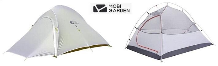 モビガーデンの軽量テント