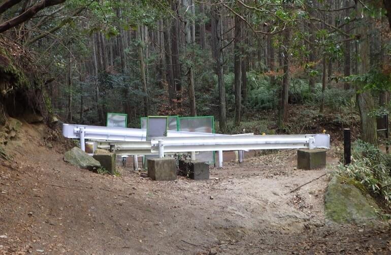 広見林道の終点