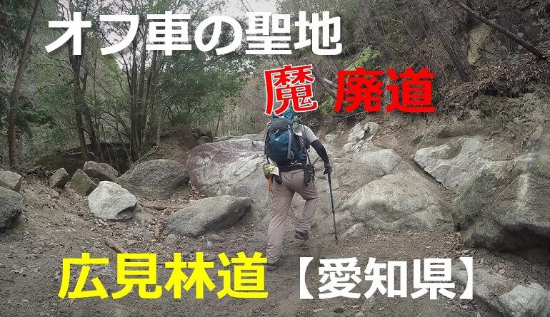 広見林道 愛知の林道・酷道