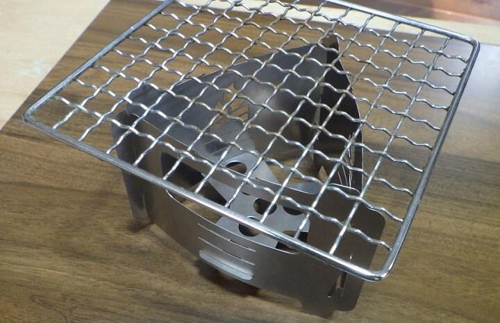 ブッシュボックス ウルトラライトに金網を載せる